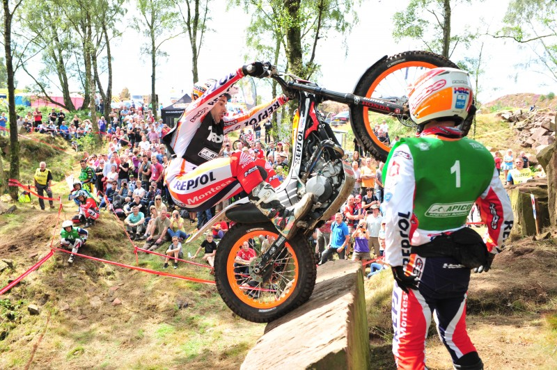 Toni Bou wins in a class of his own