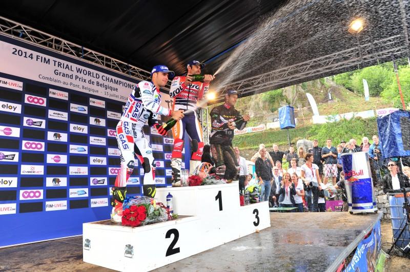 Toni Bou victorious in Belgium – Takahisa Fujinami fourth