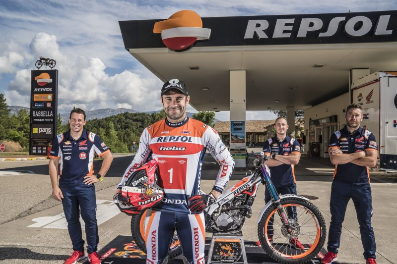 Repsol Honda Team Trial 2021 photo gallery