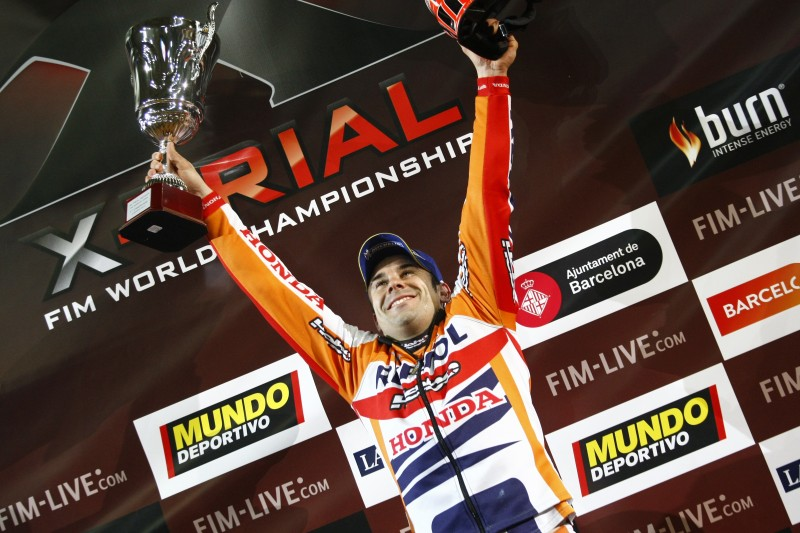 Toni Bou back to winning ways in Barcelona X-Trial