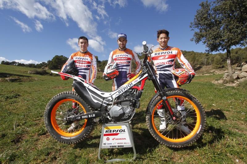 El Repsol Honda Team preparado para arrancar el Mundial en Japón
