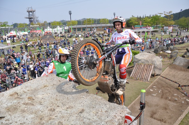 Toni Bou opens the world championship with a win in Japan