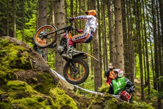 Jaime Busto in Czech GP, day1
