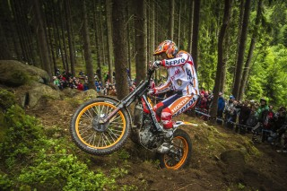 Takahisa Fujinami in the Czech Republic GP Trial, day1