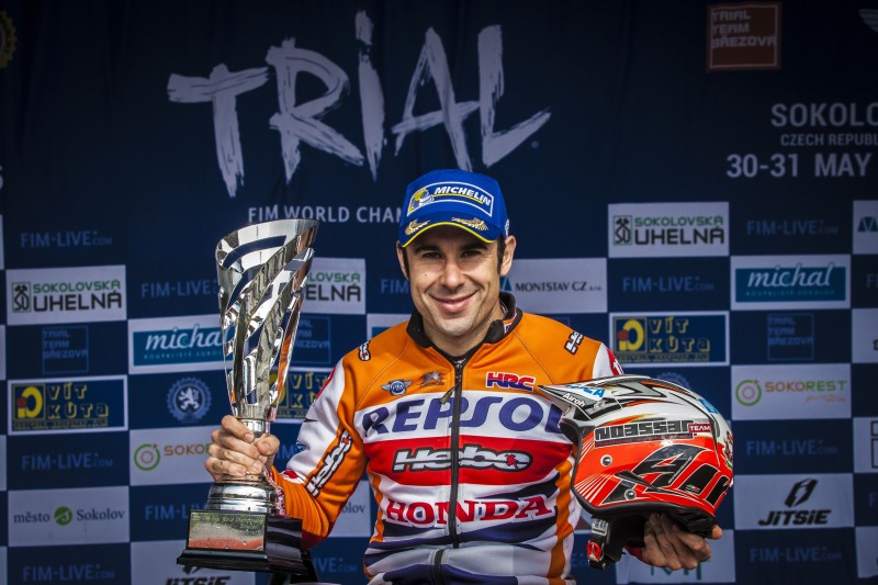 Toni Bou commands day one in the Czech Republic GP