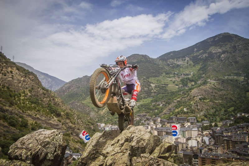 Toni Bou repeats second spot in Andorra