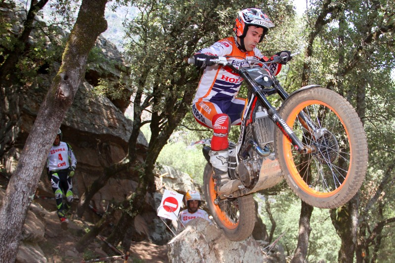 Second place for Toni Bou in the National round in Andorra