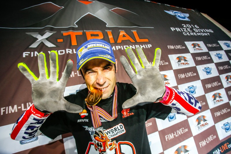 An incredible Toni Bou takes a tenth X-Trial title and increases his legendary status