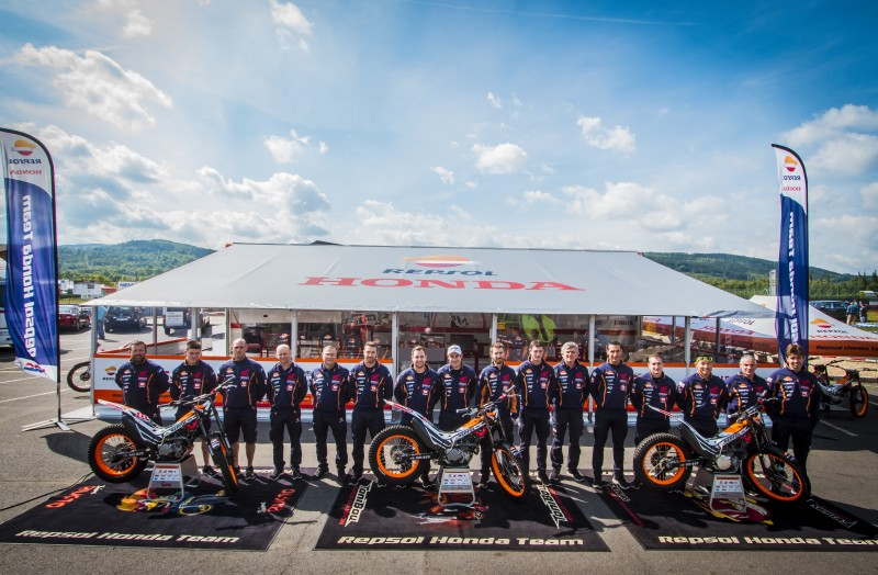 Repsol Honda Team sets its sights on ten straight titles