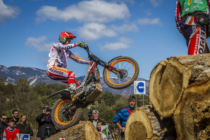 Runner-up spot with a flavour of victory for Toni Bou in season opener