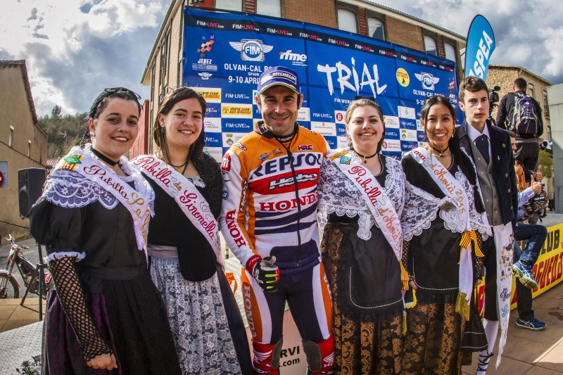 Toni Bou bounces back with a GP win and tops world championship table