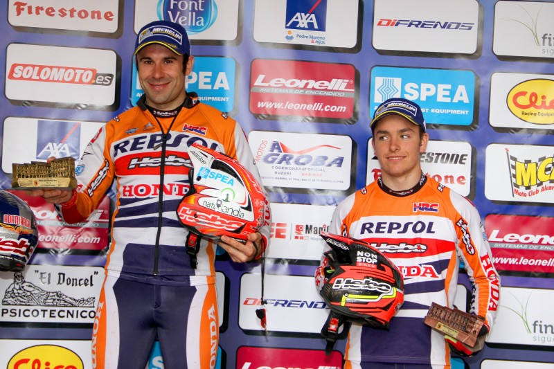 Bou and Busto have taken the podium in the Spanish championship