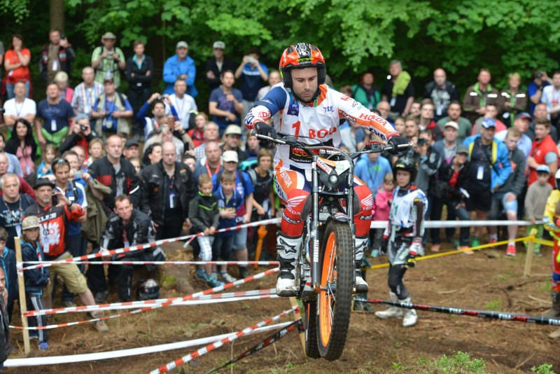 Third consecutive victory for Toni Bou in the 2016 Trial World Championship