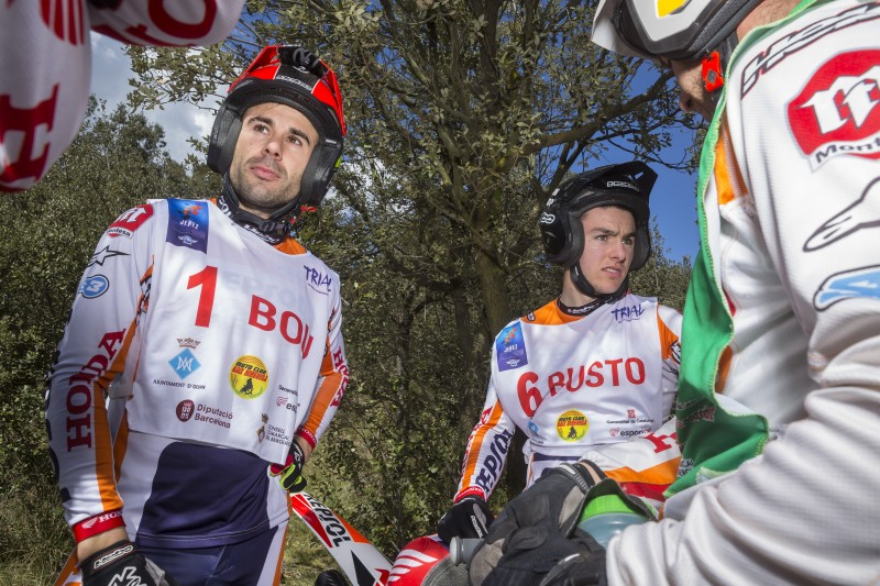 Repsol Honda Team take to the Pyrenees