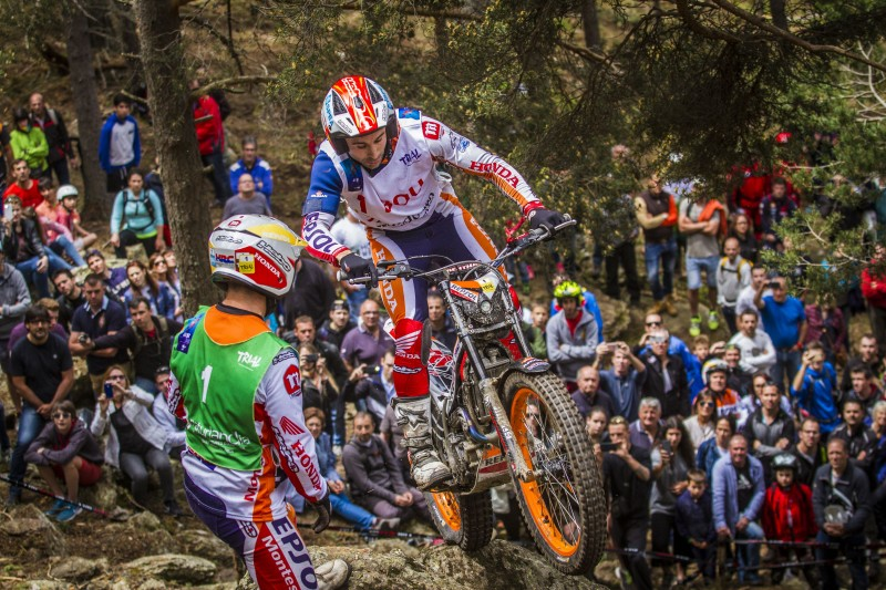 Toni Bou reigns supreme in the Andorra GP
