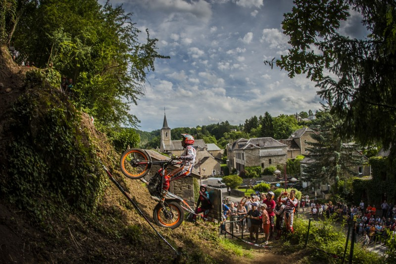 Repsol Honda Team in the UK for one of the season's most vital trials