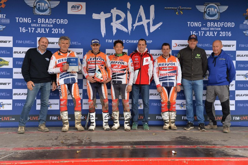 Ninth win for Toni Bou and 200th for Montesa, who clinch the constructor's championship in the UK