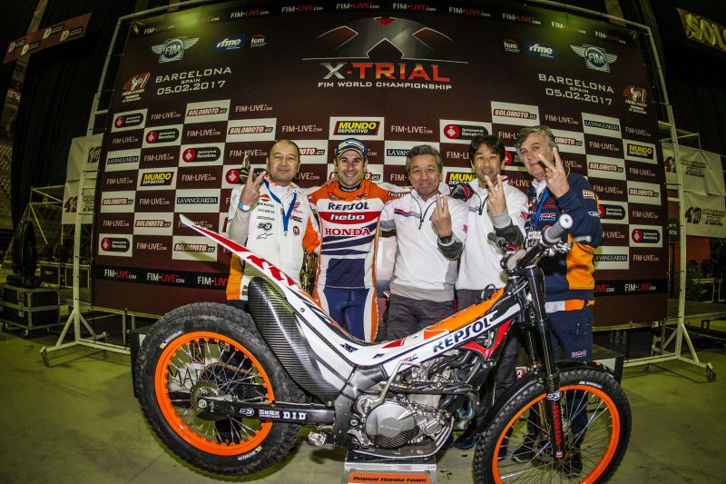 Toni Bou steamrolls the opposition as the Trial World Championship opens its 40th edition in Barcelona
