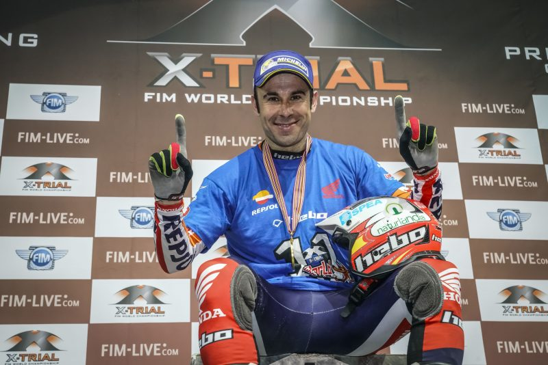 Bigger and bigger: Toni Bou increases his legendary status with an eleventh X-Trial Championship title