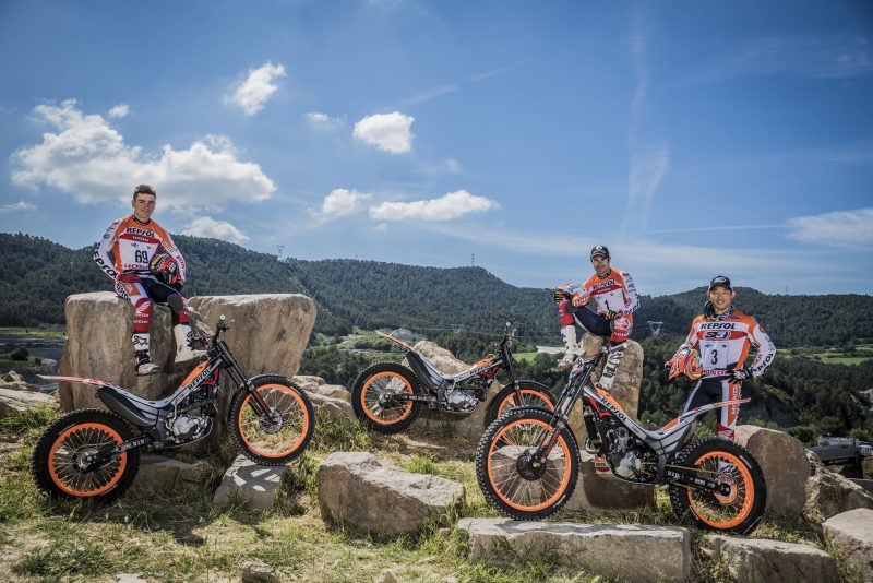 Repsol Honda Team kicks off the 2017 World Championship TrialGP on home soil