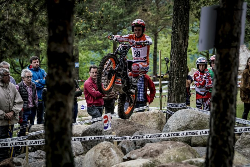Jaime Busto, the fastest qualifier in the new era of TrialGP