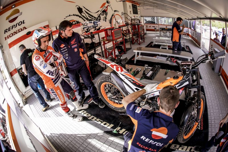 Motegi and the Japanese Trial GP await the Repsol Honda Team