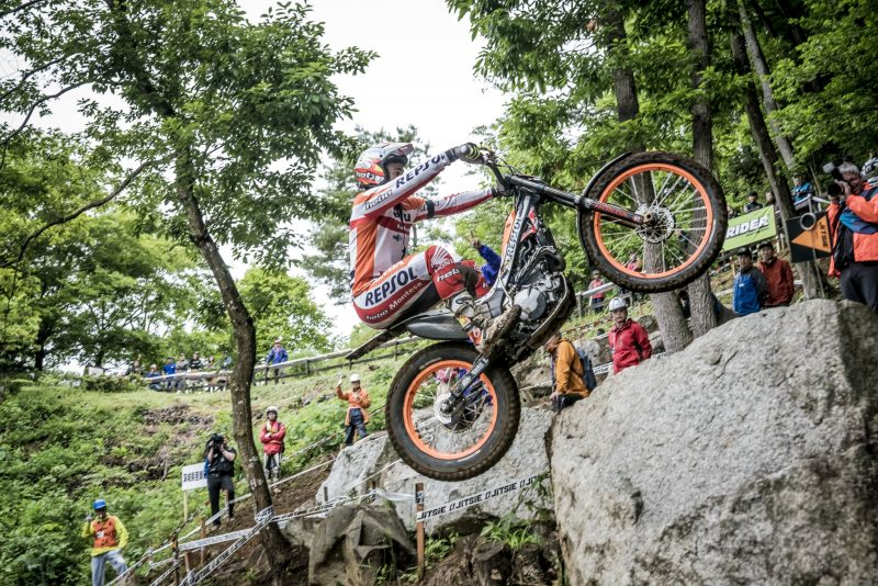 Bou, Fujinami and Busto qualify among the top eight for the Japanese TrialGP