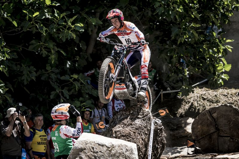 Good result for Repsol Honda Team in the qualifying for the Andorra TrialGP