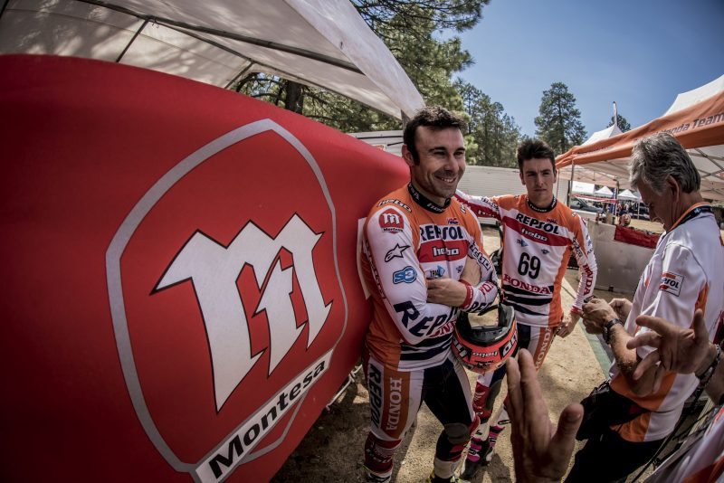 Toni Bou looks to seal his eleventh title in the Czech Republic