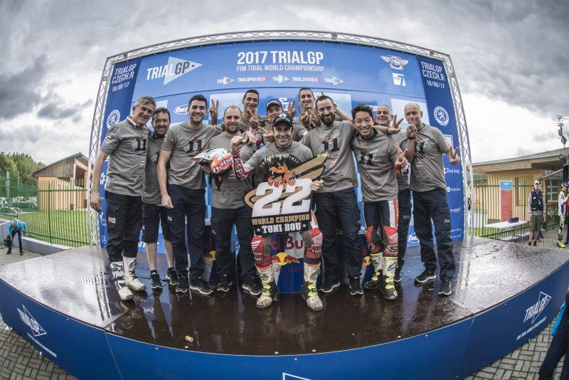 Toni Bou raises the World Championship title tally to 22