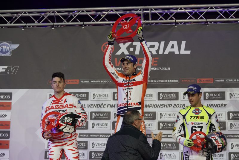 Toni Bou leads the new X-Trial Championship