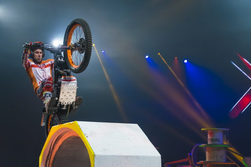 Toni Bou cleans up in Toulouse