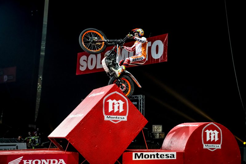 Toni Bou returns to the X-Trial World Championship in Paris