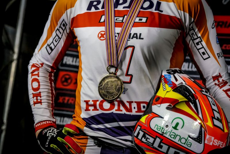 Toni Bou collects another world title with a triumph at the X-Trial des Nations