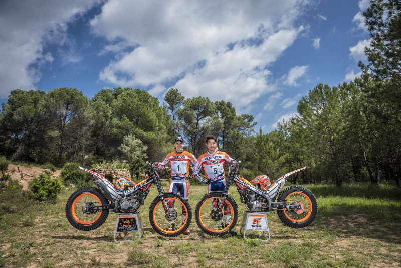 The Spanish GP opens the World TrialGP season for Repsol Honda Team