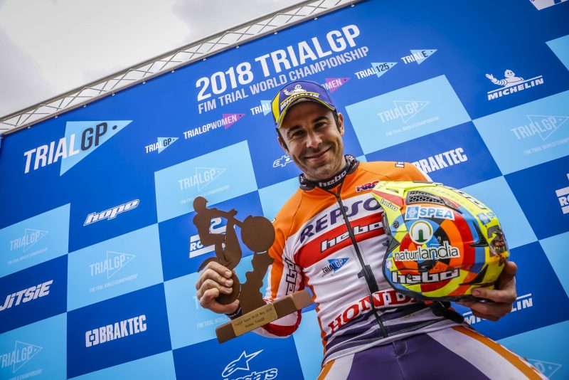 Toni Bou gets the TrialGP World Championship off to a spectacular start