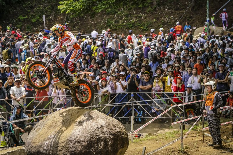 Toni Bou back on the podium and retakes the TrialGP leadership