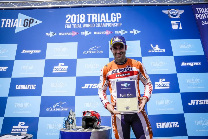 Toni Bou: Winning 100 trials out of 200 GP appearances is an incredible efficiency rate