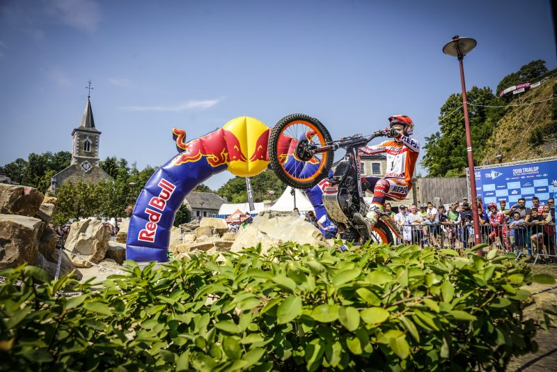 Tricky qualifying round for Toni Bou in Belgium