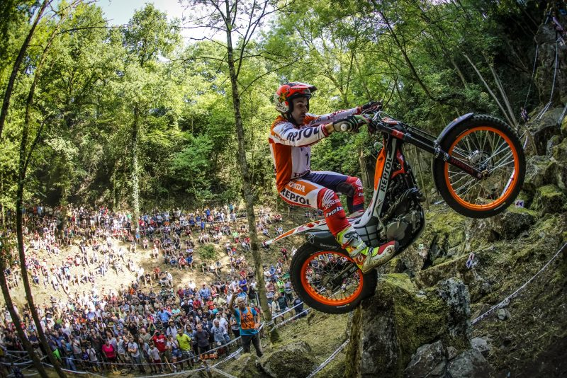 Toni Bou injury update