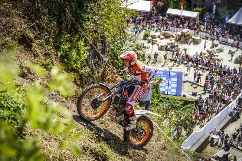 Great Britain, first shot for Toni Bou at a twelfth TrialGP title