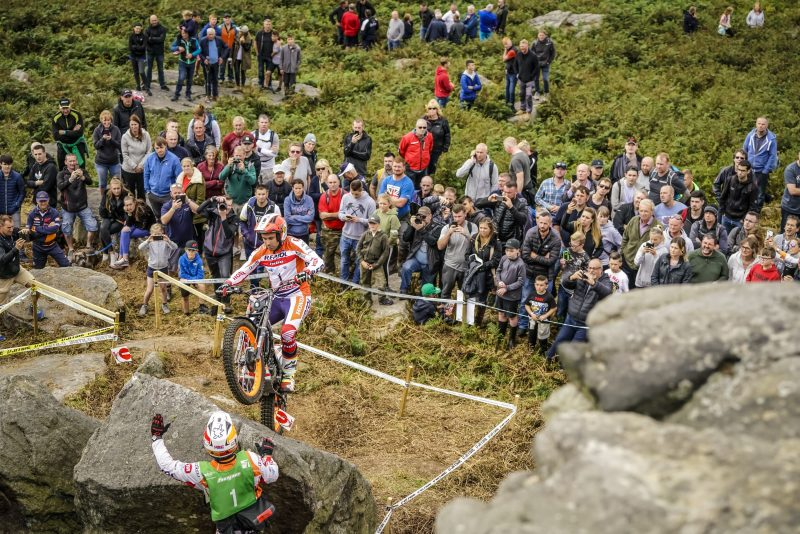Newly-crowned champion Toni Bou ready to finish the 2018 TrialGP World Championship in Italy