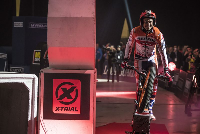 Toni Bou seeks to make his debut in Bilbao with a top spot podium finish