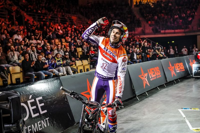 Another world title for Toni Bou