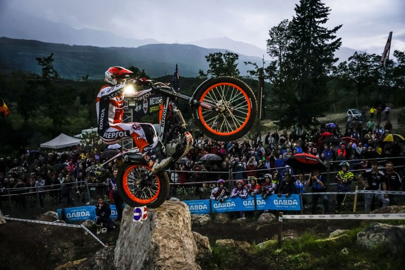 Weather conditions complicate qualifying as the TrialGP World Championship kicks off in Italy