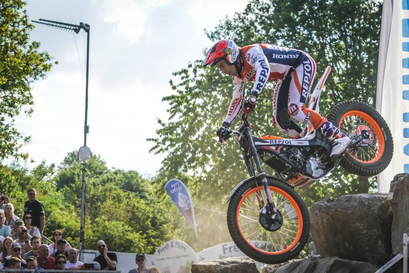Belgium, next stop for Repsol Honda Team Trial