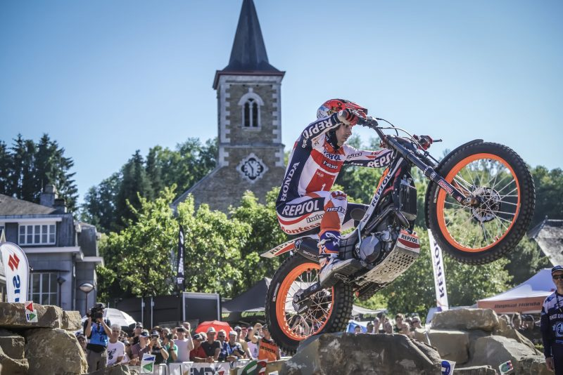 Toni Bou again takes pole in Belgium