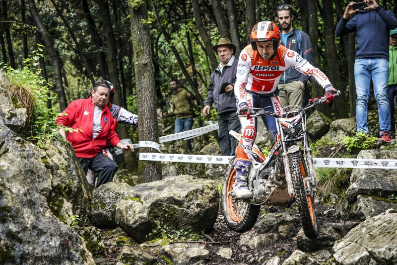 A challenge at altitude for the French TrialGP