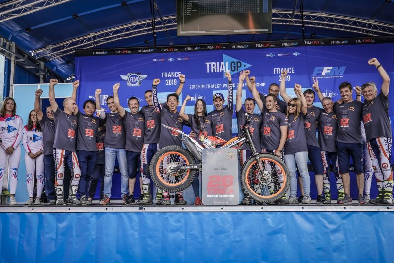 Toni Bou increases his legendary status further with a 13th TrialGP world title