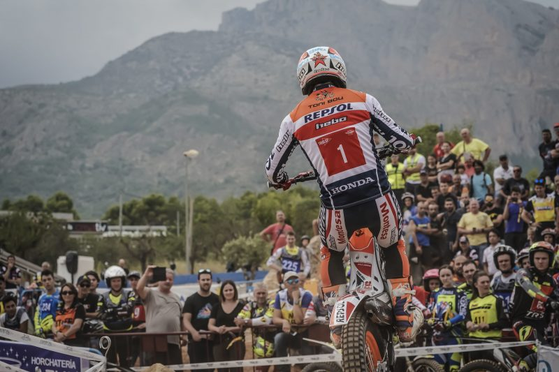 Stratospheric Toni Bou clinches the fifth and final qualifying round of the season